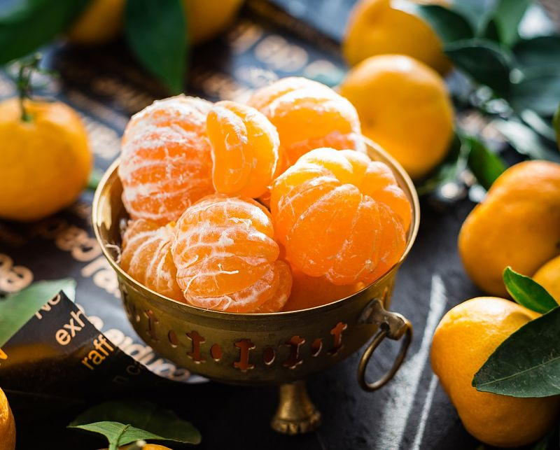 Mandarins come with no seeds and easy slip skins making them ideas for lunches and snacks